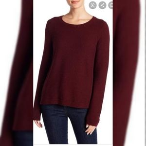 Madewell Riverside Burgundy Sweater Small